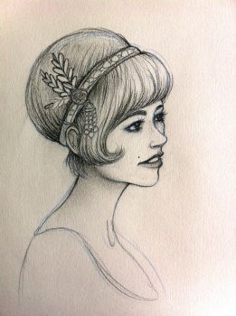 Daisy - The Great Gatsby by Fli-nn