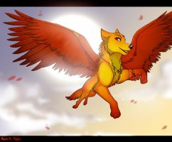 Fire by Ronni2011 c: by LunaWolf43