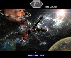 Captain futures Comet by Commander-Zero