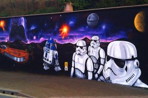 Star Wars Graffiti by kitster29
