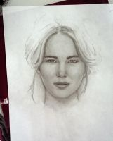 Jennifer Lawrence wip by Cordilia61