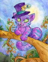 The Cheshire Cat by Starrydance