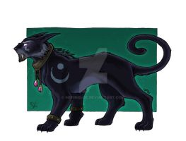 Nightelf-Druid-Catform by Merinid-DE