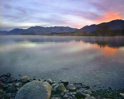Foggy Dawn - Tekapo by saxtim