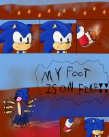 Comic fun with: Sonic the hedgehog by Noonui