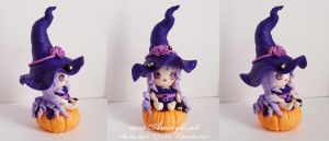 Witch in fimo 03 by Nailyce