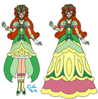 Go! Princess PreCure! Cure Clover! by CooperGal24