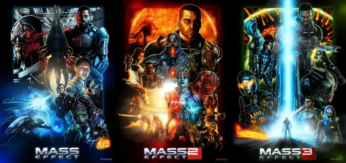 The Mass Effect Trilogy by Kmadden2004