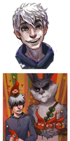 Rise of the guardians by Leerer-Raum