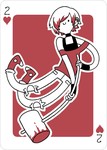 Adventure Time Style Dante - Two of Hearts by catiniata