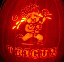 Crying Donuts, Trigun Pumpkin by musogato