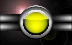 Red Button - Variation, Yellow by Varcolacu