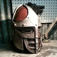 Skyrim Guard Helmet - EVA Foam Build by JohnsonArms