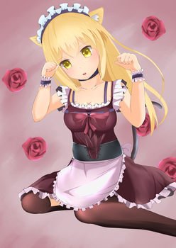 Aiz Wallenstein (neko maid) by Cyphose
