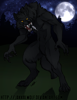 LSC: Rem the Werewolf by JakkalWolf