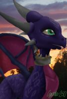 Cynder - A heroic smile by Cynder250