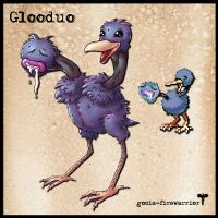 Pokemon Fusion: Glooduo by Fyrrea