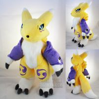 Renamon by MagnaStorm