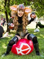 Ziggs Cosplay - League of Legends by tiemiau