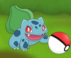 Bulbasaur by ThunderMagi