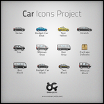 Car Icons Project by omercetin