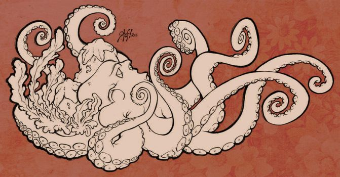 the octopus by StefTastan