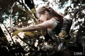 Lara Croft Reborn | Tomb Raider 2013 by CammyPlaster