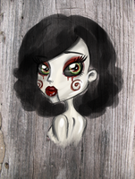 Eyes of a tormented soul by chunk07x