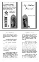 My Mother's Funeral Booklet by grace2design