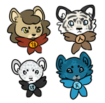 Chibi Guardians by ShinyCation