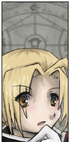 Bookmark - Edward Elric by Shipuh