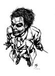The Joker (Inks) by xenomorph01