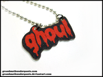 Drippy Ghoul Necklace by GrandmaThunderpants