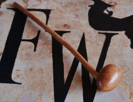 Forever Maple Burl Pipe 12 in long by FloggleWerks
