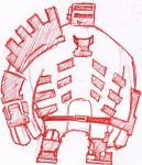 Doodle: Dead Space Stern by MaddeningTruth