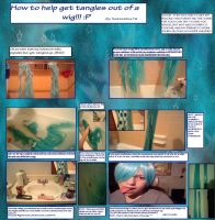 Tangled/wash wig tutorial by hearts2love16