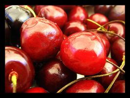 the red cherries by nivasp