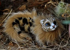 Savannah newborn dragon spirit by LisaToms