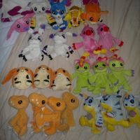 My Digimon bean bag collection update Nro. 2 by aishiteru420