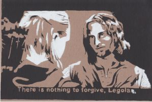 Nothing to Forgive by LisaTelramor