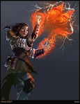 Chow357 Apprentice Wizard by SLabreche
