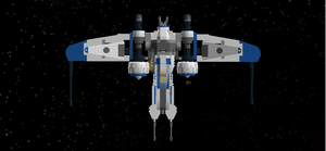 ARC-170/ Mandalorian Starfighter Ugly V1 Top by mafia279