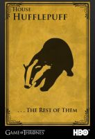House Hufflepuff - Game of Thrones by 8-bitEarth