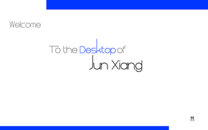 The Desktop of Jun Jun by gepalex