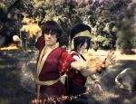 Two - Zuko, Toph by TophWei