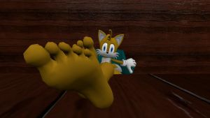 Tails relaxing 1 by hectorlongshot