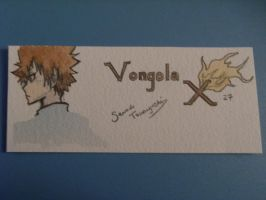 Vongola X Watercolor Bookmark by scarletwilight
