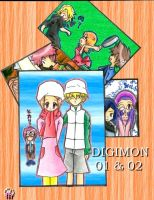 Digimon 01 + 02 by Flarie-hanami