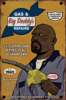 Big Daddy's Gas and Repair by Kyohazard