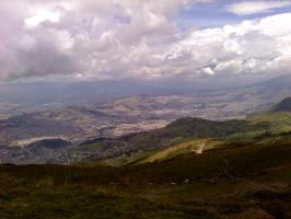 View of Quito-Ecuador by Shinji-Uchiha